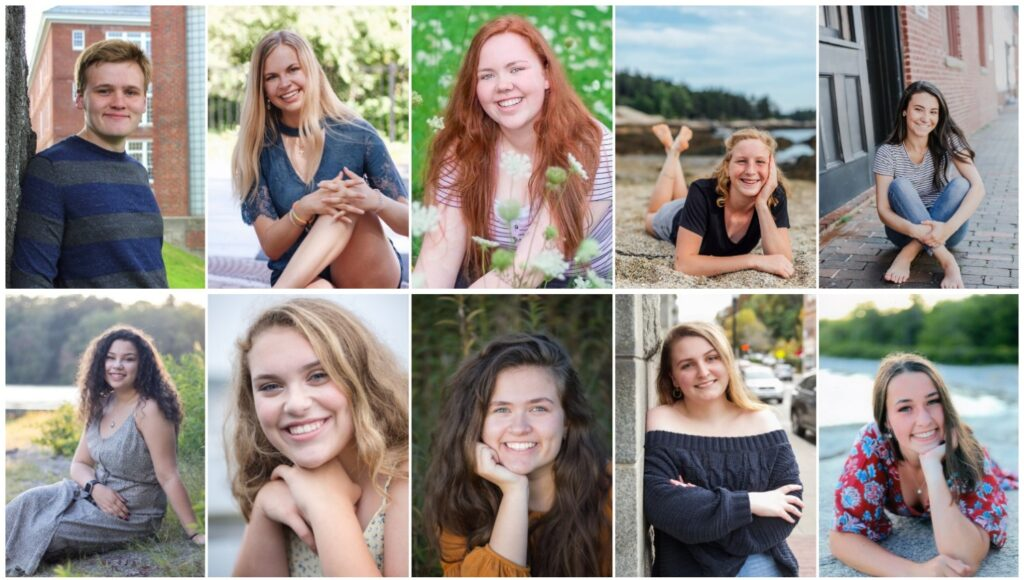 Cony High School in Augusta has announced its top ranked seniors for the class of 2020. Top from left are Ian Harden, Mallory Turgeon, Molly Dutil, Cecilia Guadalupi and Katherine Boston. Bottom from left are Jasmine Daly, Emma Levesque, Julia White, Jessica Guerrette and Sarah Cook-Wheeler.