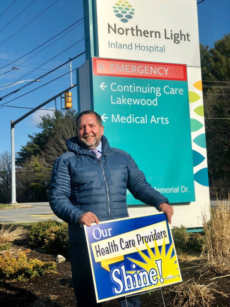 Dan Booth with Northern Light Inland Hospital in Waterville.