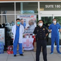 Frontline ER Donates PPE to Dallas Police Department First Responders
