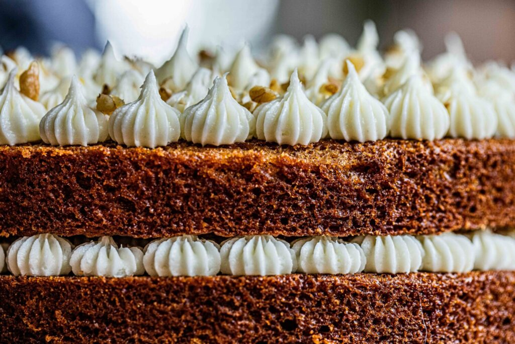 Sure, you're on lock down, which means now more than ever you need good cheer. Celebrate your anniversary with carrot cake from The Portland Cake Company.