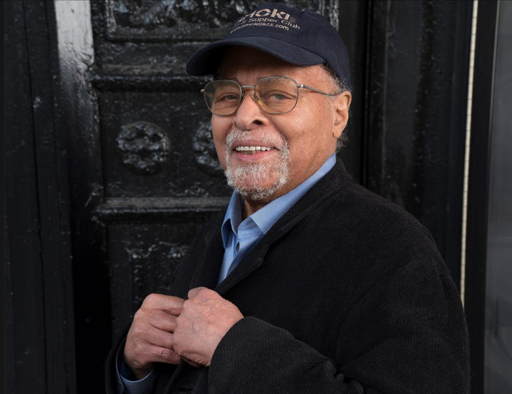 "Jimmy Cobb poses in 2019 for the release of his album ""This I Dig of You"" in New York City. Cobb, the last surviving member of Miles Davis' 1959 ""Kind of Blue"" groundbreaking jazz album, died Sunday at his home in Manhattan."