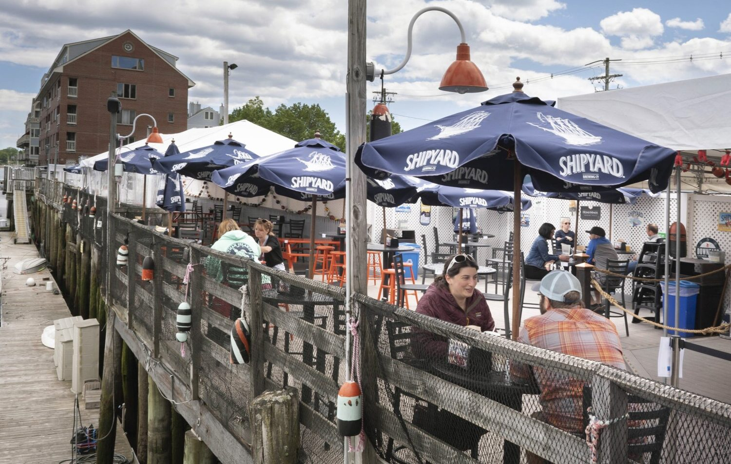 Restaurants Open On Christmas Day 2020 Maine Outdoor dining slowly reemerges in the Old Port   Portland Press