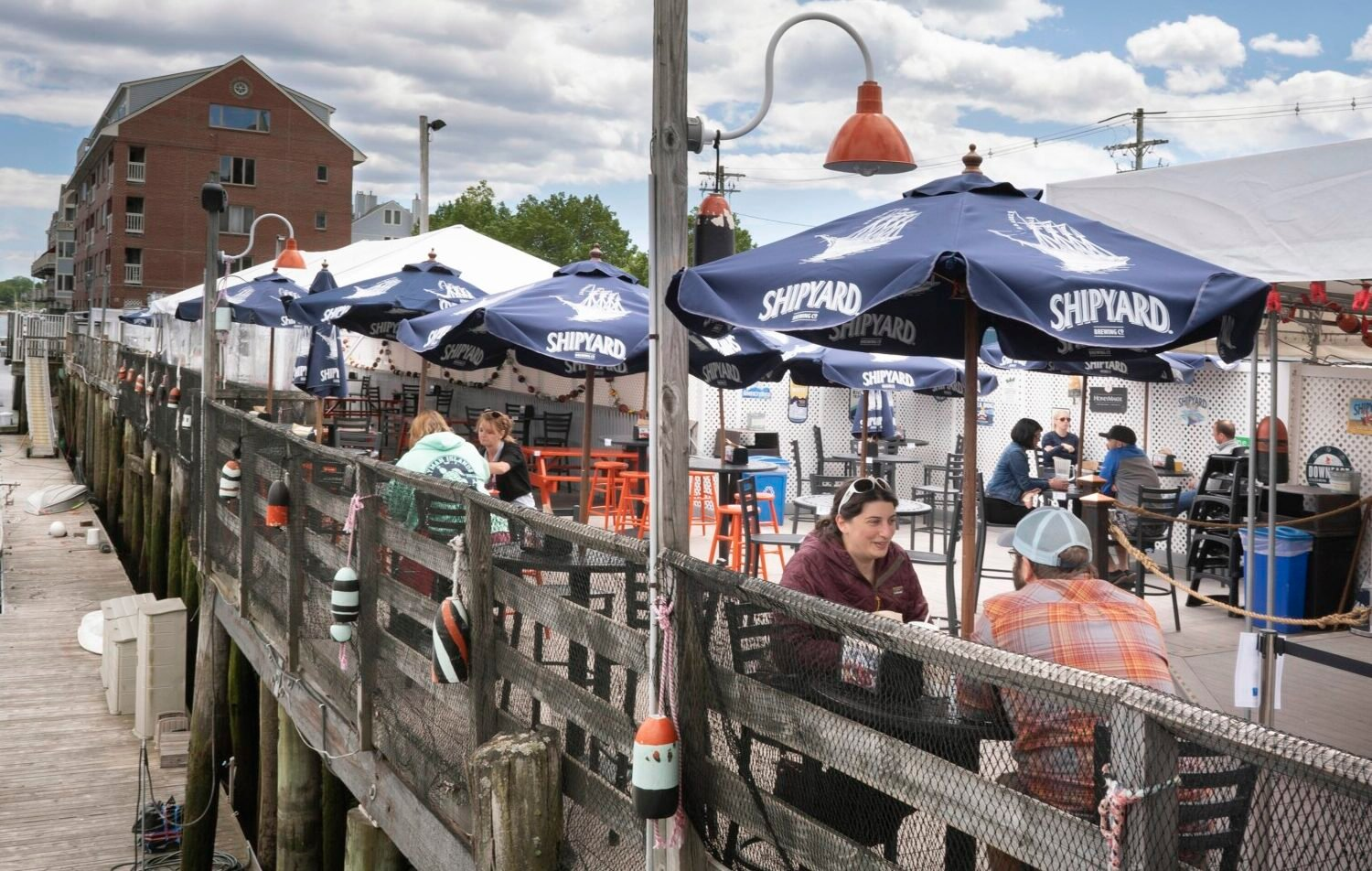 Outdoor dining slowly reemerges in the Old Port   Portland Press