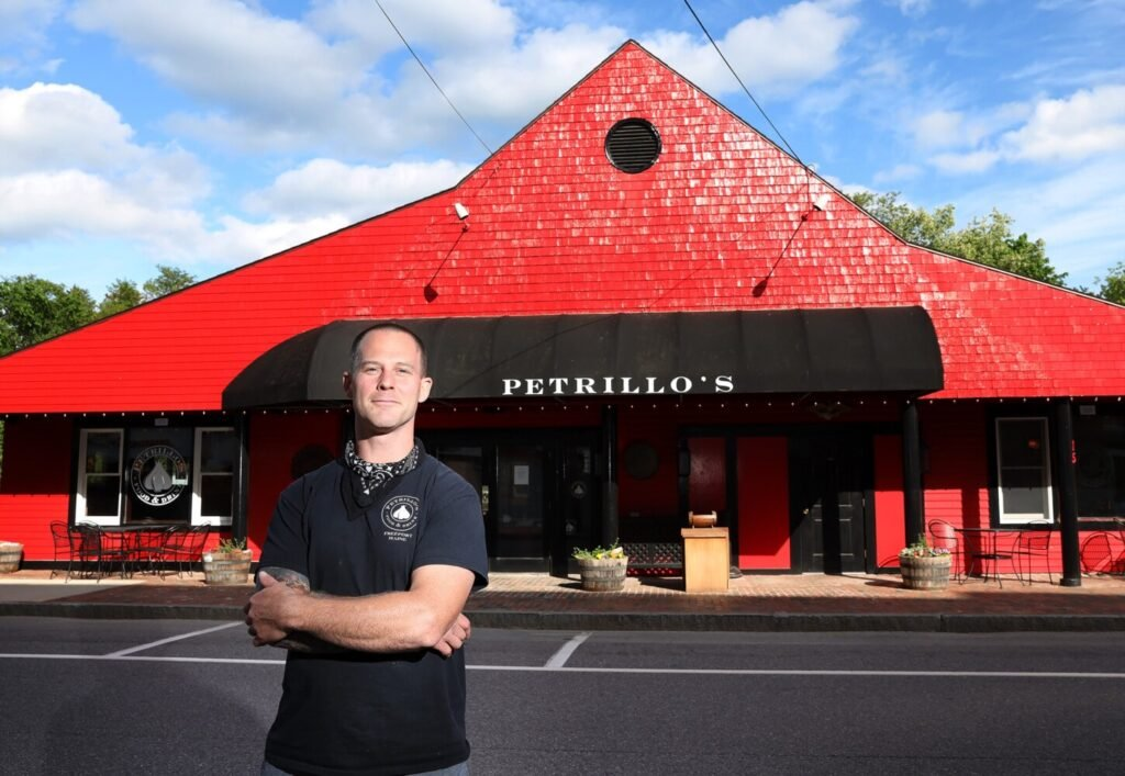 Dominic Petrillo, owner of Petrillo's Italian Restaurant in Freeport, has been serving diners indoors since June 4 and plans to continue doing so, against the executive order from Gov. Janet Mills.