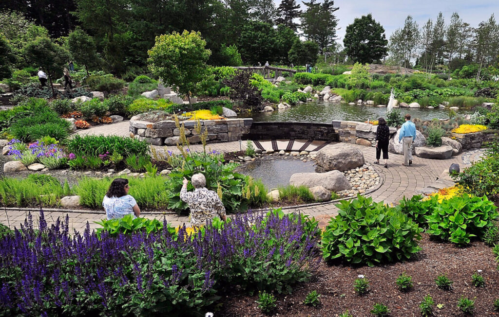 Coastal Maine Botanical Gardens re-opened in June with pandemic guidelines in place.