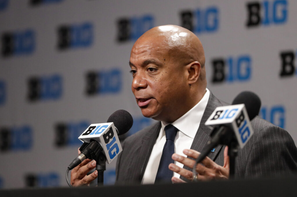 Big Ten Commissioner Kevin Warren created an anti-racism coalition after the death of George Floyd.