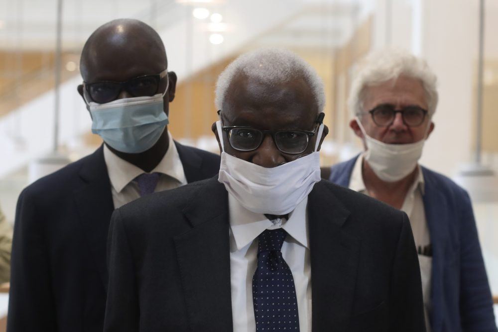 APTOPIX_France_Doping_Diack_Trial_34125