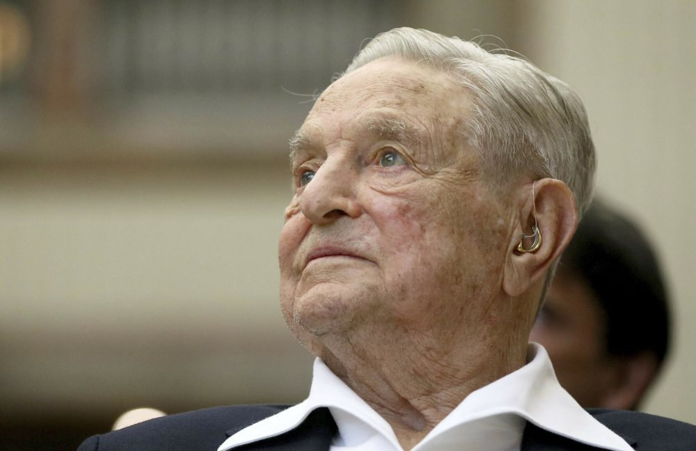 George Soros, founder and chairman of the Open Society Foundations, has donated billions of dollars of his personal wealth to liberal and anti-authoritarian causes around the world, making him a favored target among many on the right. The Hungarian-American, who is Jewish, has been the subject of anti-Semitic attacks and conspiracy theories for decades.