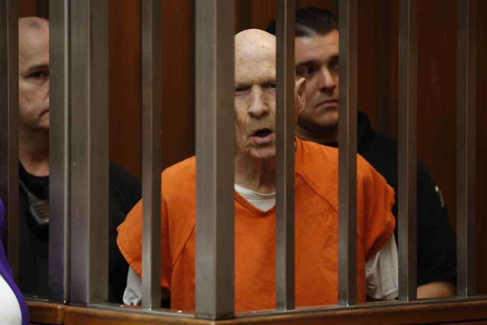 Joseph James DeAngelo, seen here on March 12, is tentatively set to plead guilty Monday to being the elusive Golden State Killer.
