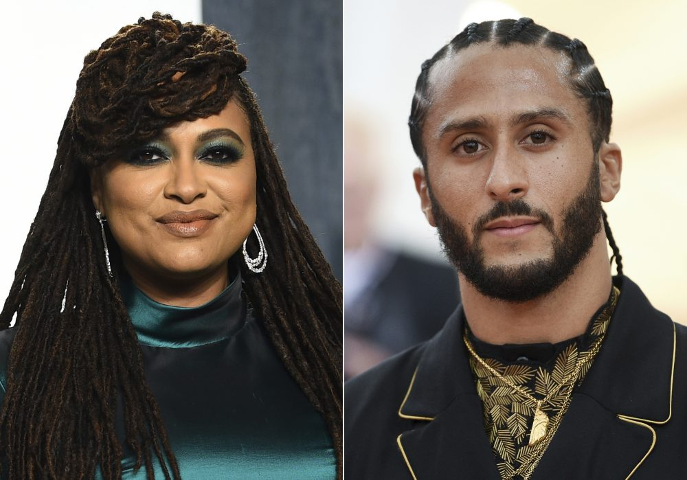"Colin Kaepernick is teaming up with Emmy-winning filmmaker Ava DuVernay for a Netflix miniseries. ""We seek to give new perspective to the differing realities that Black people face,"" said Kaepernick."