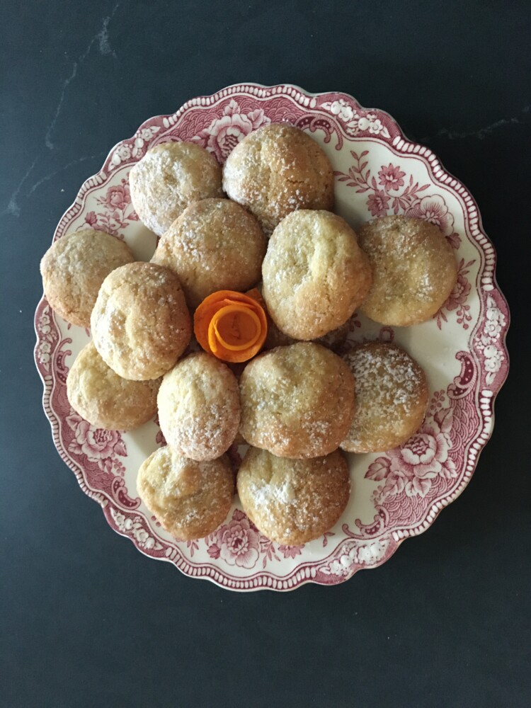 Lemon-Almond Cookies