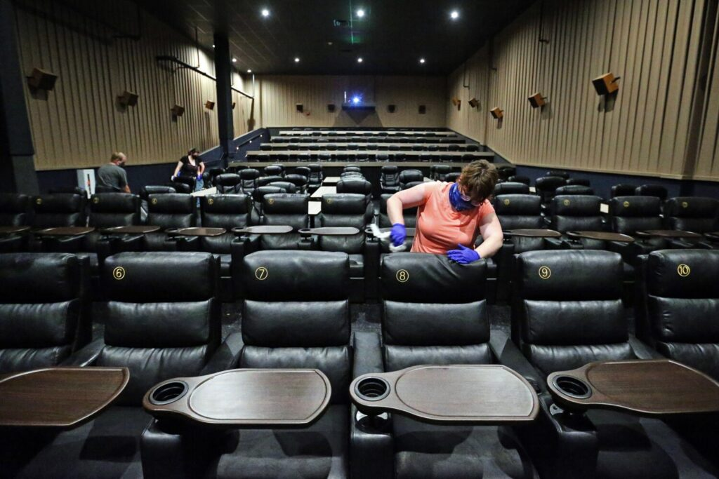 Photo of Maine movie theaters get ready to reopen, expecting small audiences