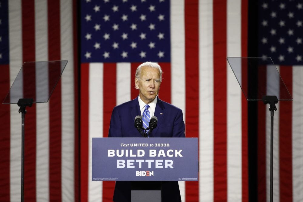 Democratic presidential candidate, former Vice President Joe Biden's climate plan doesn't go as far as the Green New Deal, the sweeping proposal from progressives in Congress that calls for achieving net-zero greenhouse gas emissions across the economy by 2030, but does align with a bill spearheaded by House Speaker Nancy Pelosi in reducing emissions to zero by 2050.