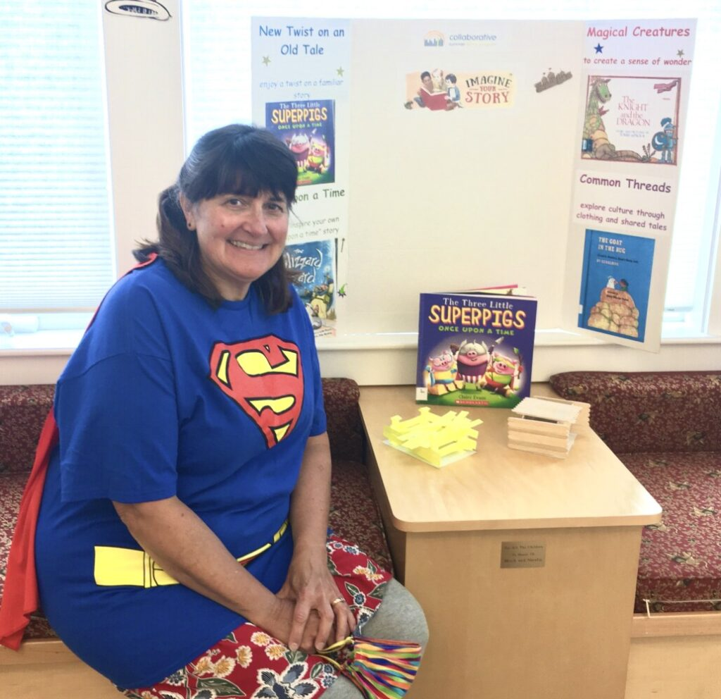 Kristin Gould offers a virtual Craft and Story Time from 11 a.m. to noon every Wednesday  for first- through third-graders  for Vose Library's  Summer Reading Program.