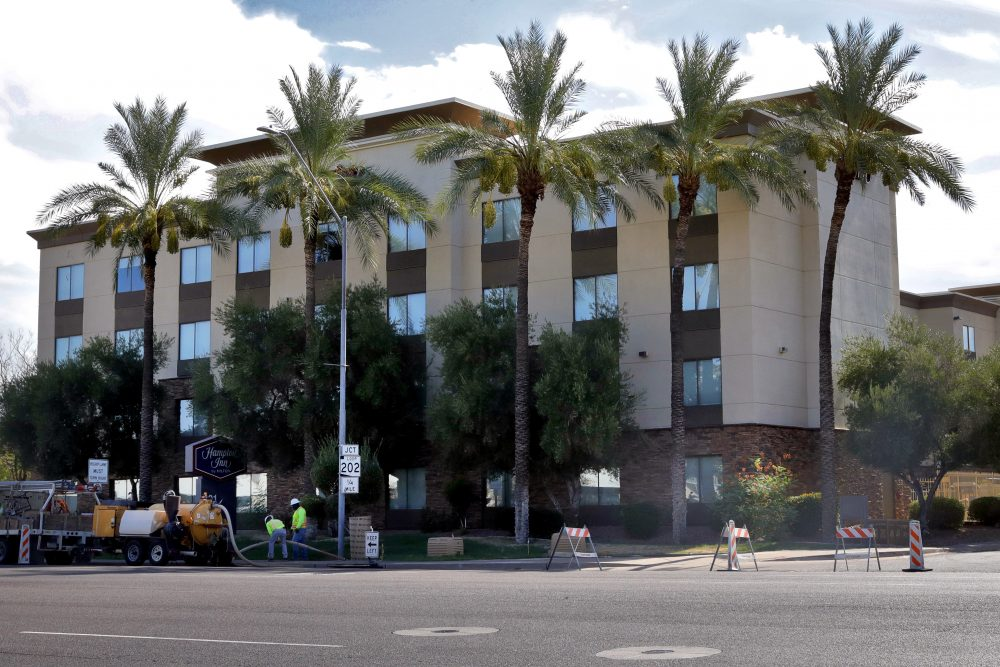 The Trump administration has been detaining immigrant children as young as 1 in hotels before deporting them to their home countries. Documents obtained by The Associated Press show a private contractor hired by U.S. Immigration and Customs Enforcement is taking children to three Hampton Inns in Arizona and Texas under restrictive border policies implemented during the pandemic.