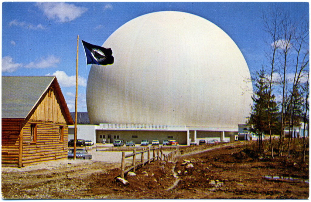 Andover Earth Station, circa 1962.