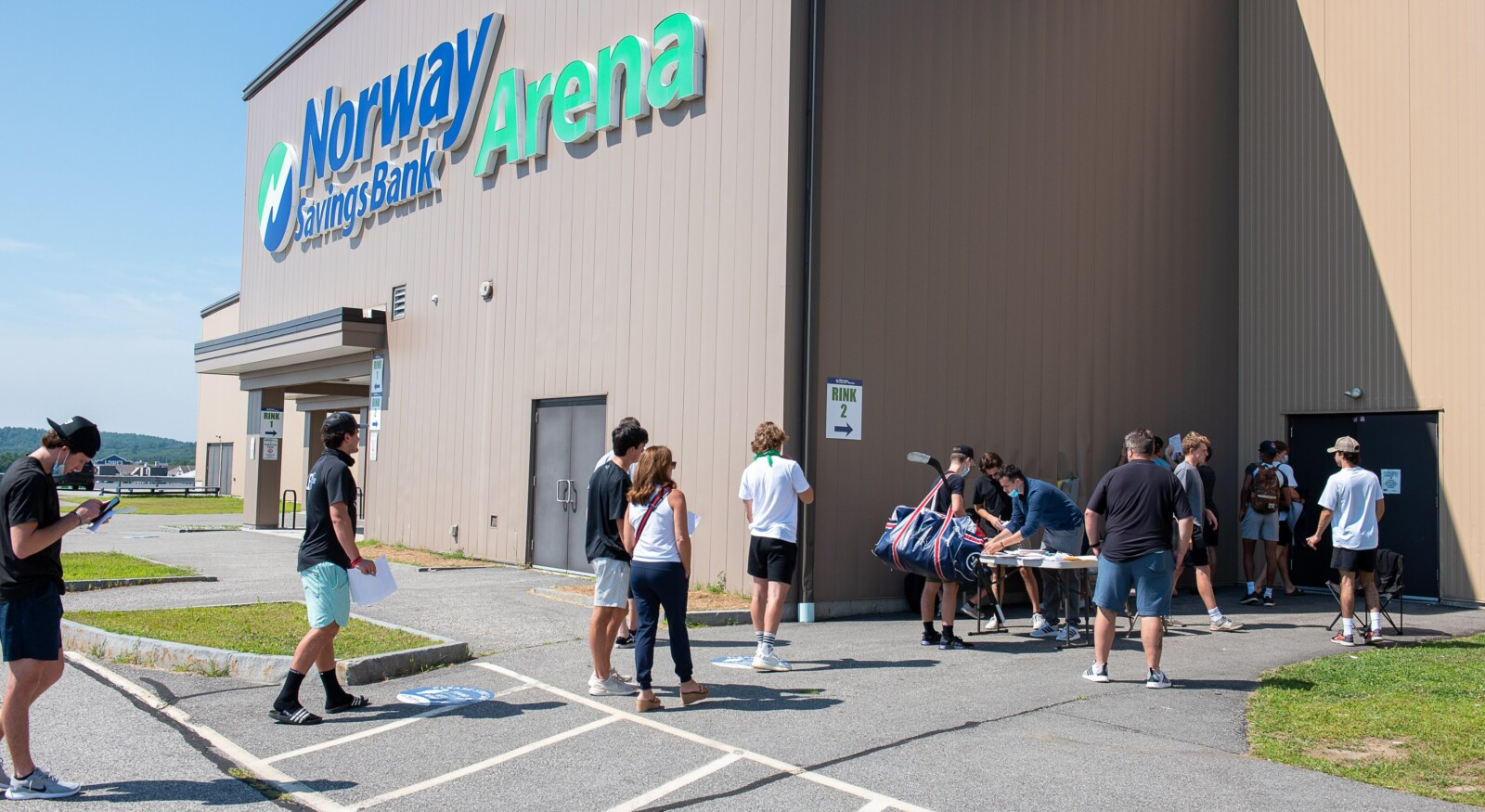 nordiques main camp day 1 - MTM Web to Print First Photograph Date