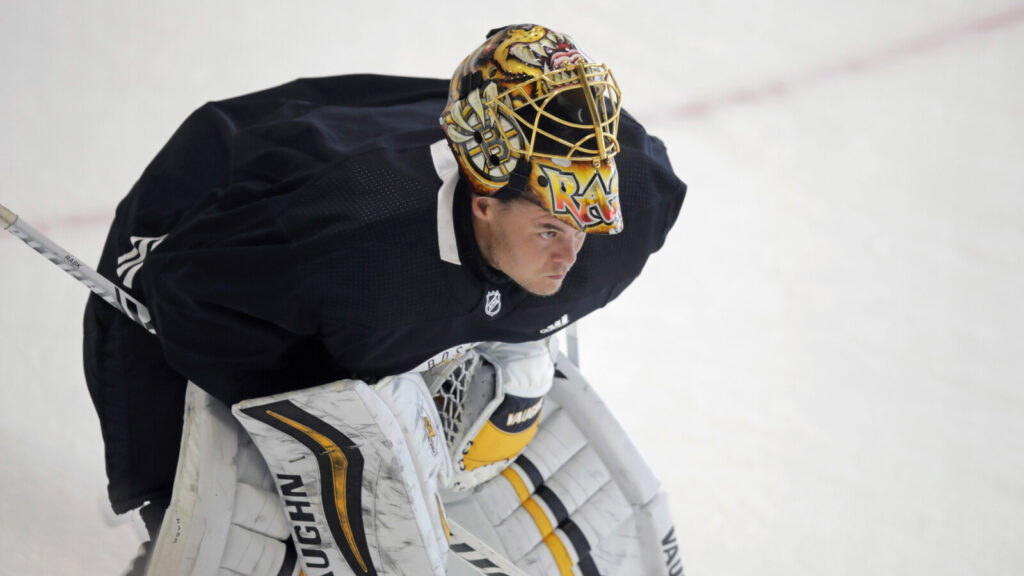 Boston Bruins goaltender Tuukka Rask says 'It just feels like an exhibition game' with the playoffs taking place in empty arenas.