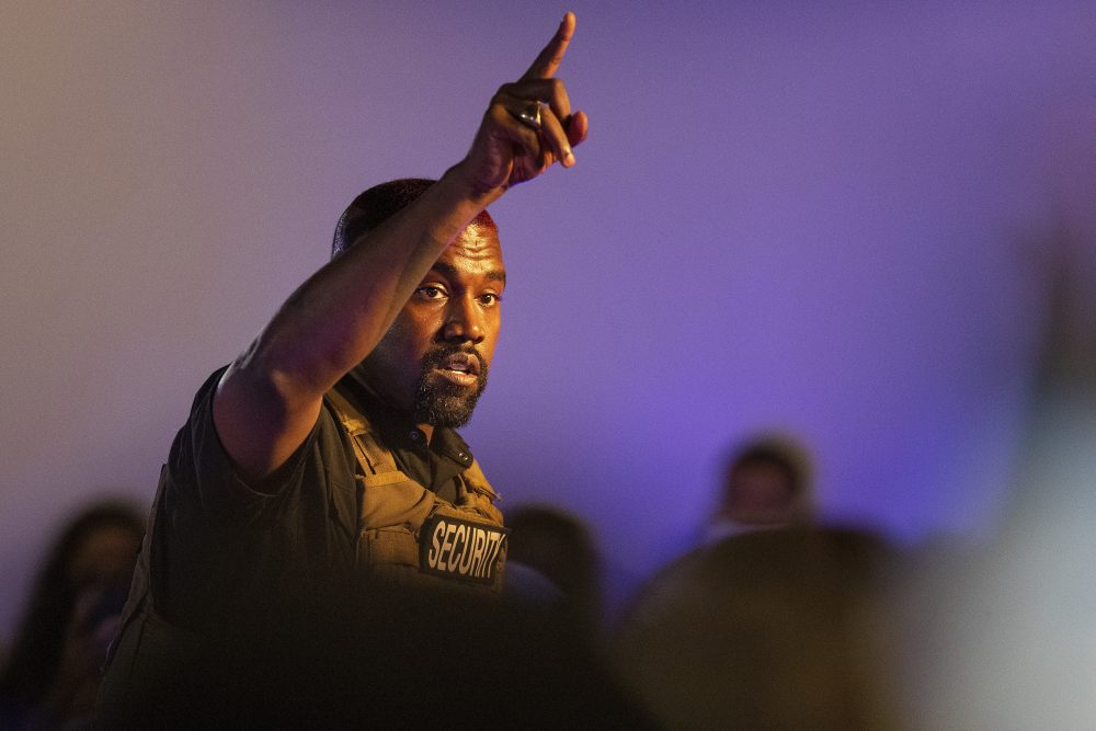 Kanye West makes his first presidential campaign appearance, in North Charleston, S.C., on July 19. Virginia electors say in affidavits they were duped into helping the star's presidential bid.