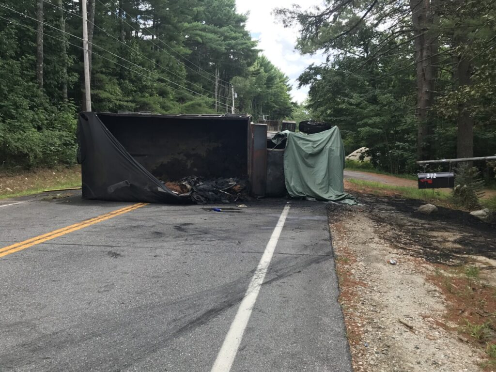A Litchfield man was killed on Wednesday morning in a truck crash in New Gloucester.