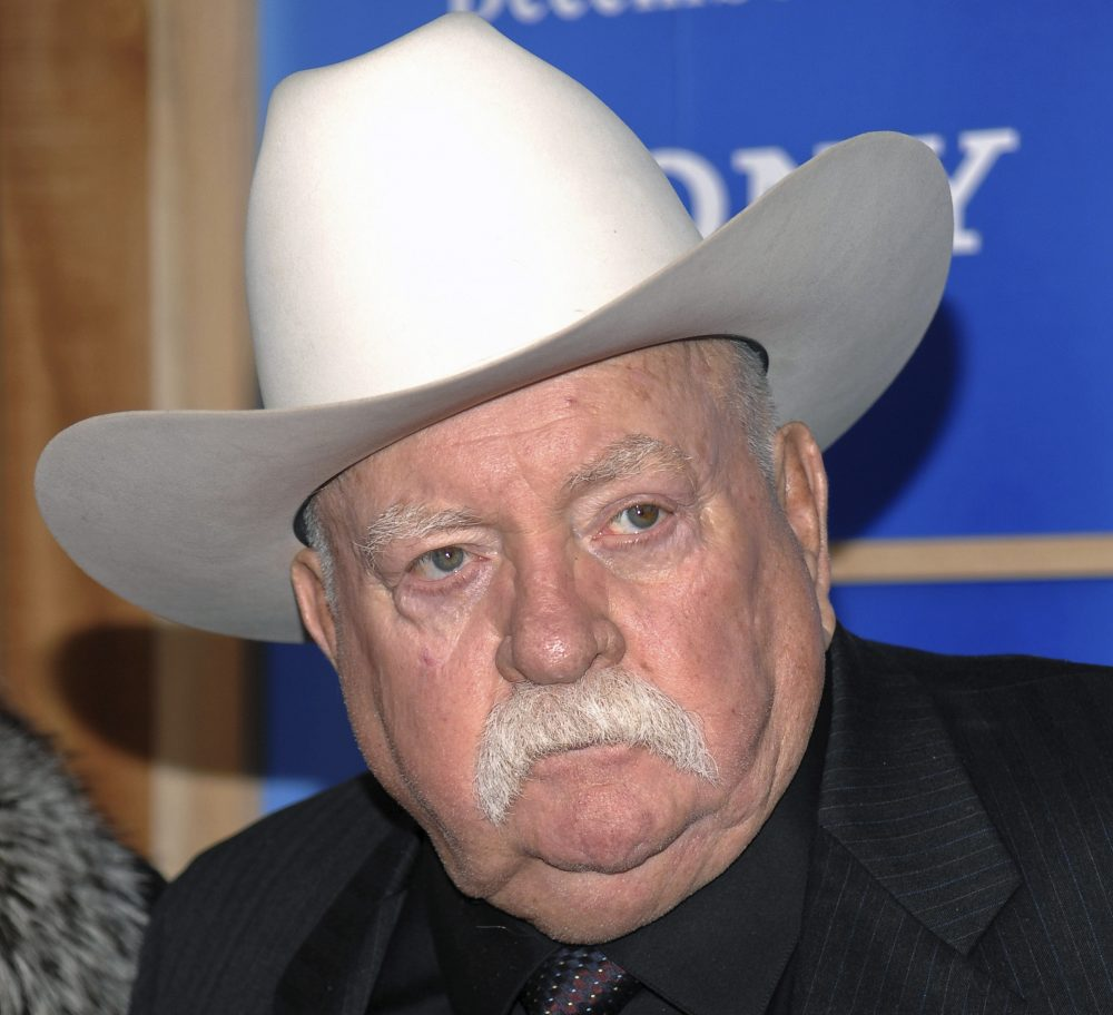 """Actor Wilford Brimley attends the premiere of 'Did You Hear About The Morgans' at the Ziegfeld Theater in New York. Brimley, who worked his way up from stunt performer to star of film such as """"Cocoon"""" and """"The Natural,"""" has died. He was 85."""