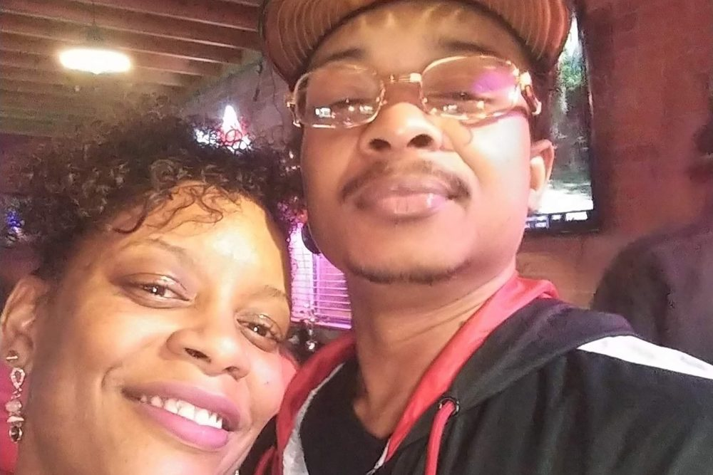 Jacob Blake is shown in this 2019 photo with a second cousin, Adria-Joi Watkins. Blake was shot multiple times by Kenosha police on Aug. 23.
