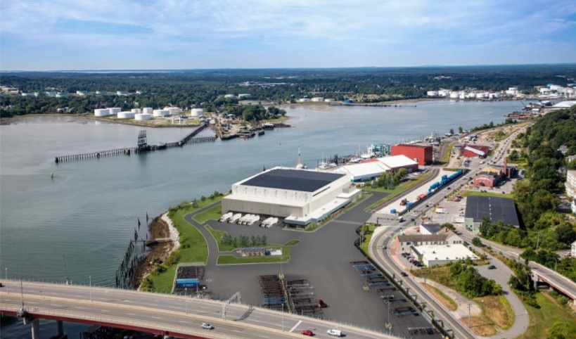 The Planning Board next week is expected to review a proposal to construct a 120,000-square-foot cold storage facility at 40 West Commercial St., next to the Maine International Marine Terminal.