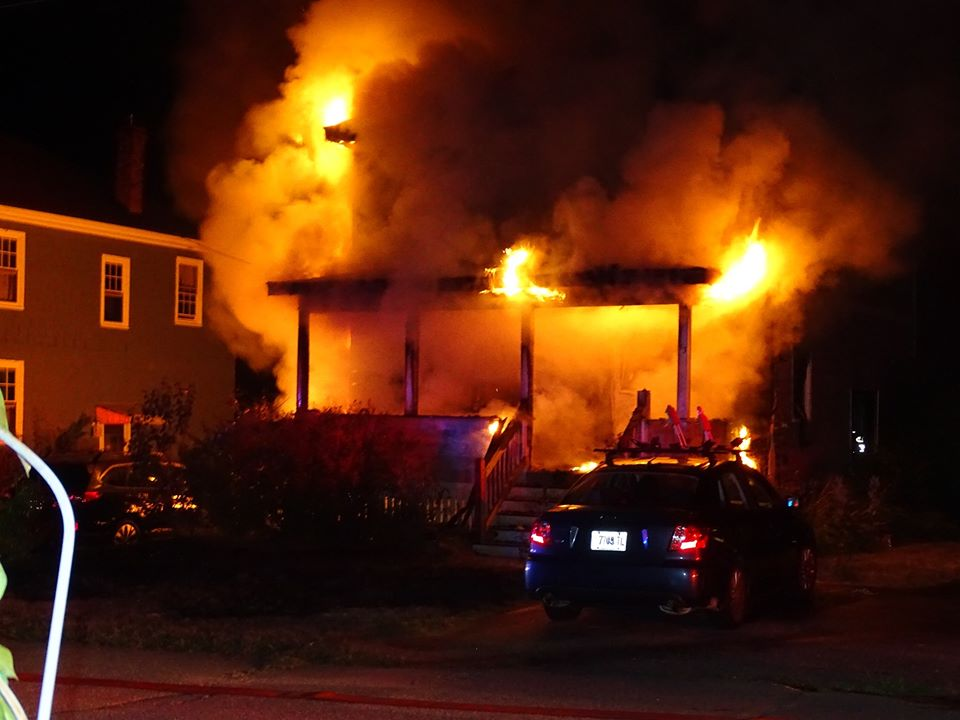 When South Portland firefighters arrived at 53 Lowell St. on Thursday night, they encountered heavy fire.