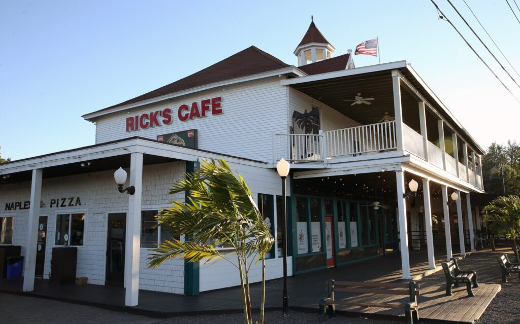 Rick's Cafe in Naples was issued an imminent health hazard certificate and temporary license suspension on Sept. 6 because of a lack of face coverings, an assertion the cafe's management disputes. Maine has cited 14 Maine businesses for violating the state's COVID-19 regulations since Aug. 20, compared with only two beforehand.