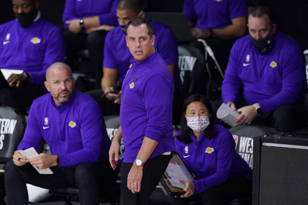 Lakers Coach Frank Vogel has led Los Angels to the NBA finals, the first time in his career he has reached the championship round. The Lakers, meanwhile, are playing for their 17th NBA title.