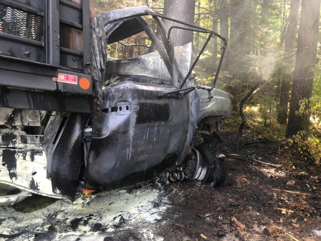 Two young men die in fiery crash in York County