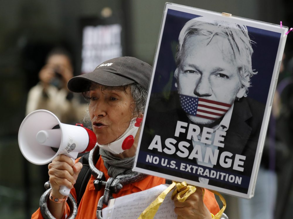 Trump wants to jail Assange to 'keep him quiet,' court hears