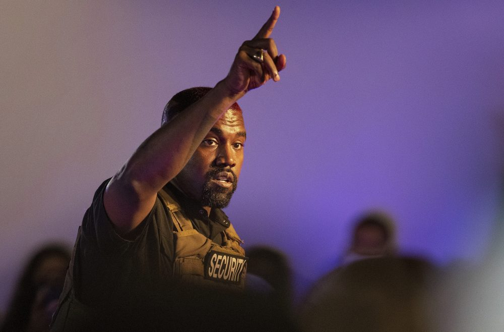 Kanye West makes his first presidential campaign appearance July 19 in North Charleston, S.C.