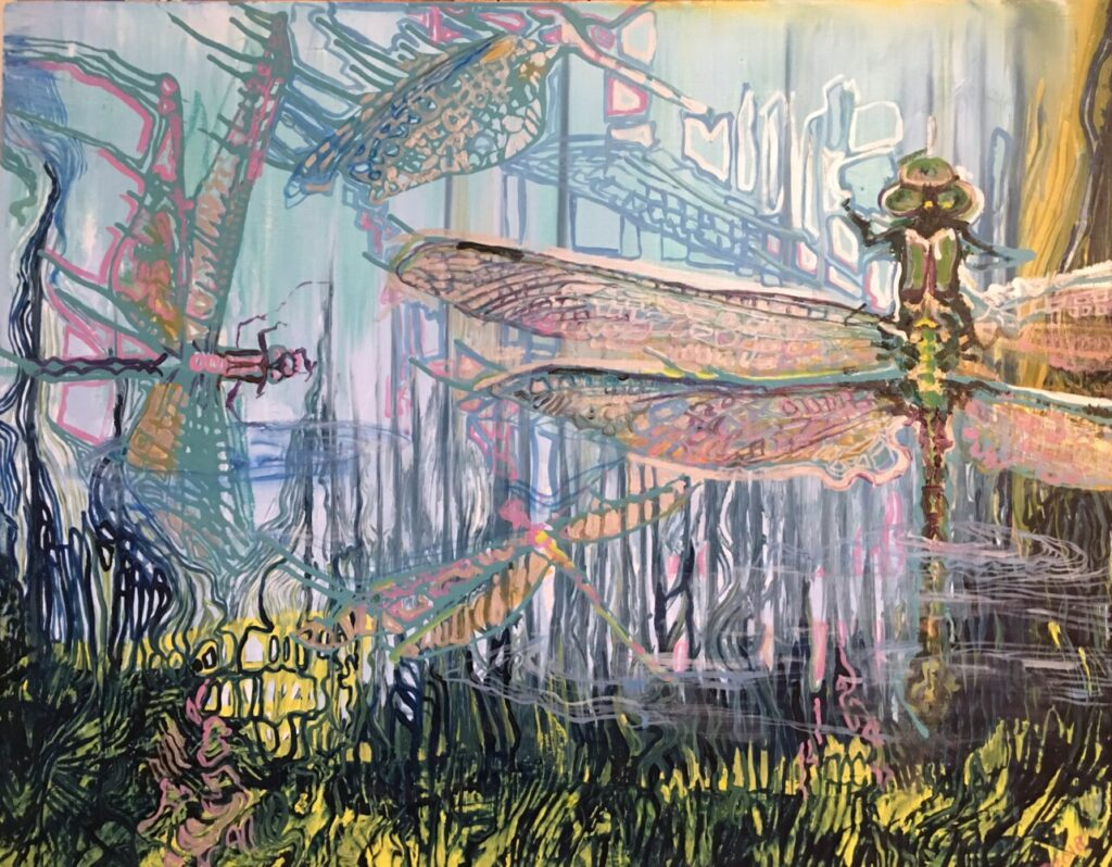 """""""Endangered Dragonfly"""" by Jacqueline Johnson."""