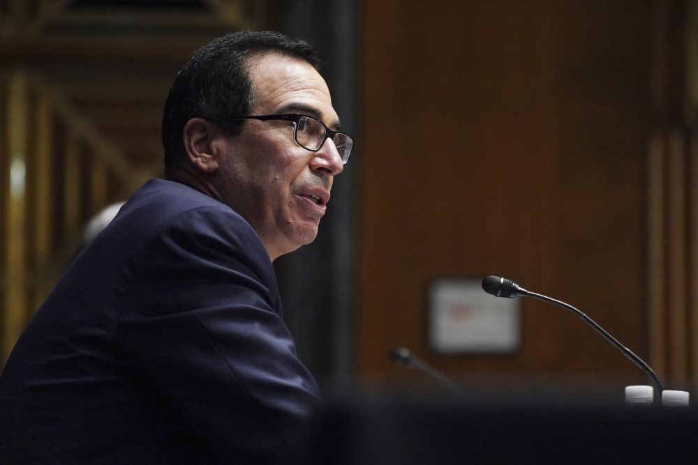 Mnuchin, Powell back jobless aid and small-business loans