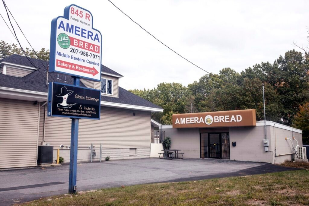 Ameera Bread on Forest Avenue in October. The restaurant has been closed amid a bitter family dispute.