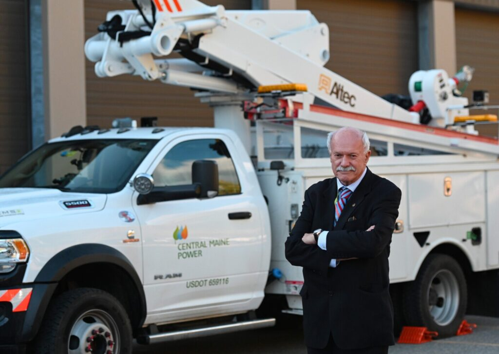 AUGUSTA, ME - OCTOBER 8: David Flanagan, Executive Chairman of Central Maine Power Thursday, October 8, 2020. (Staff Photo by Shawn Patrick Ouellette/Staff Photographer)
