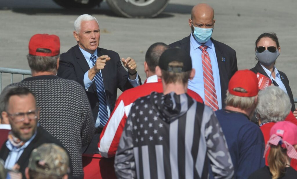 Maine official alerted to potential COVID exposure after Pence visit