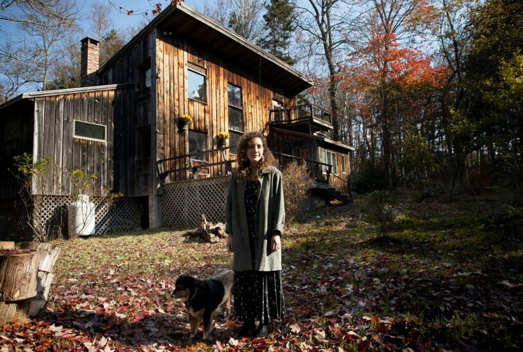 Danielle Filosa closed on her dream house in Bristol late last month and moved in with her dog, Echo. Filosa, 29, had lived in Portland for two years starting in 2014 but returned to California after her father became ill.