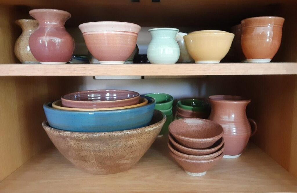 Pottery by Chris Covert.