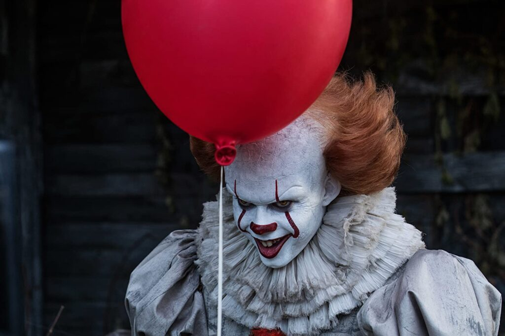 "The horror film ""IT,"" based on a Stephen King novel, will be shown outside at Thompson's Point in Portland on Halloween."