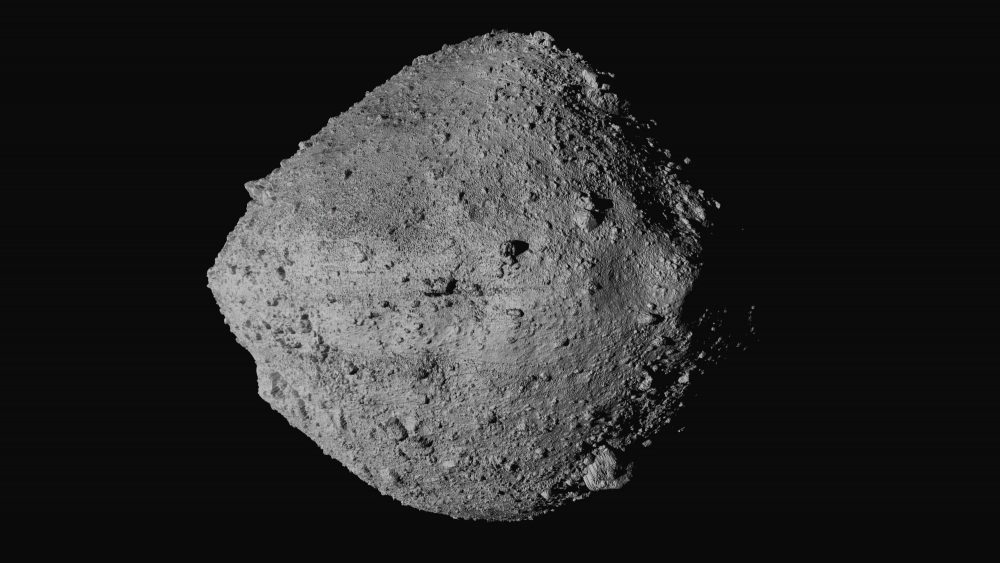 U.S. spacecraft touches asteroid for rare rubble grab