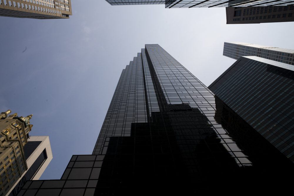 Trump returns to a business empire ravaged by...