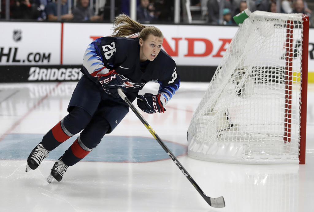 Blackhawks add Kendall Coyne Schofield to hockey ops staff