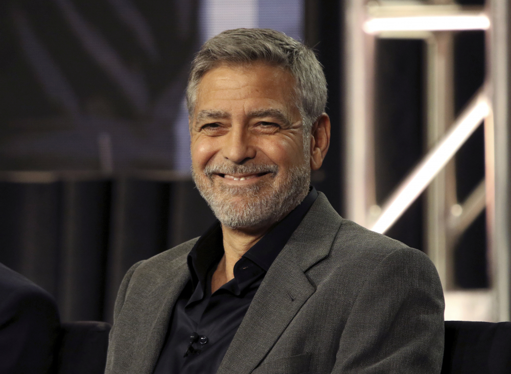 George Clooney said he's been cutting his own hair for more than two decades with a Flowbee device.