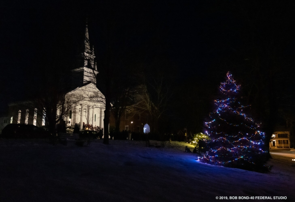 As part of Wiscasset Holiday Marketfest, the community is invited to sing carols on the Wiscasset Common, masked and distanced, for the lighting of the town's Christmas tree at 4 p.m. Saturday, Dec. 5.