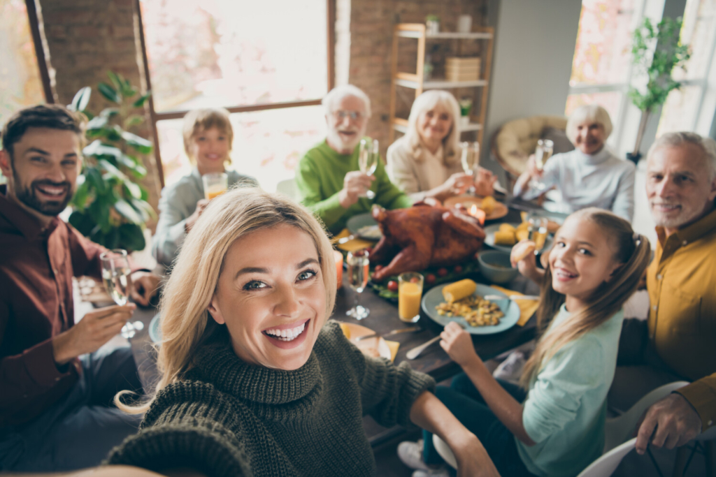Maybe, if you follow the de-escalation techniques suggested in this column, your family would all be smiling around the Thanksgiving table, too, no matter how many sorts of eaters are seated there.