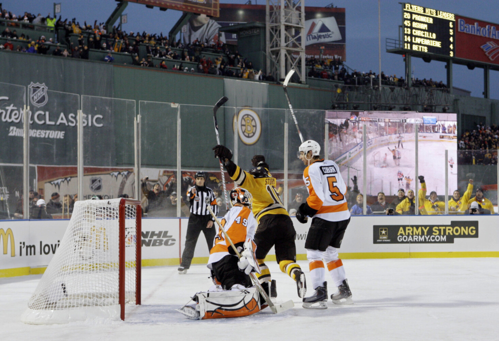 As NHL teams consider outdoor games, Bruins exploring Fenway Park