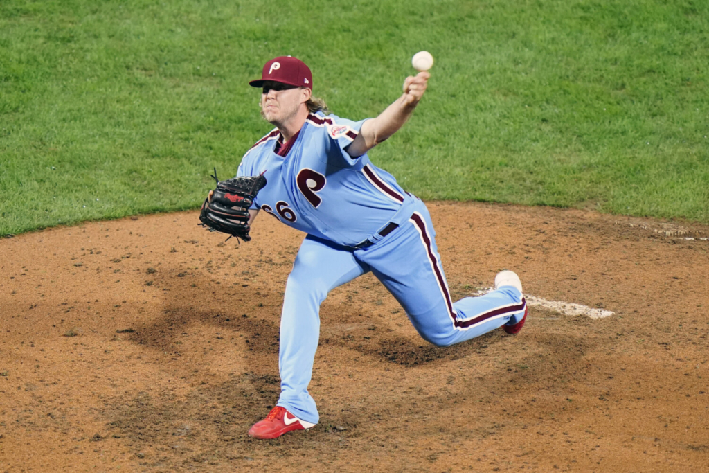 Philadelphia Phillies pitcher Garrett Cleavinger was traded to the Los Angeles Dodgers from the Philadelphia Phillies in a three-way trade with Tampa Bay.