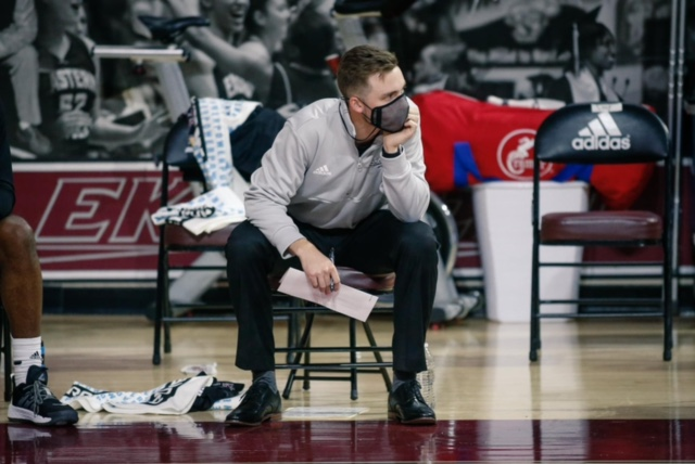 Lawrence High School graduate Mason Cooper has moved on from his playing career at Eastern Kentucky University. He's now serving as the team's video coordinator.